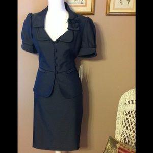 NWT Nine West 2 piece skirt suit.